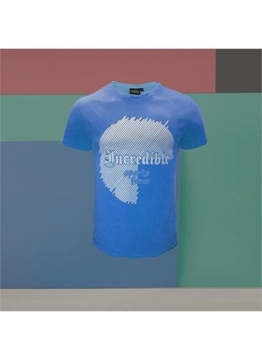 MoonSports Tişört Mavi